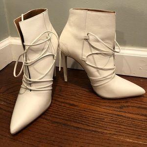 Women's White Steve Madden Boots